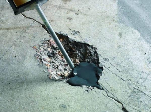 Локальный ремонт поверхности