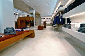 Интерьер современного магазина