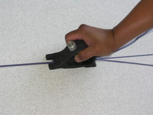 Удаление излишков полимерного заполнителя