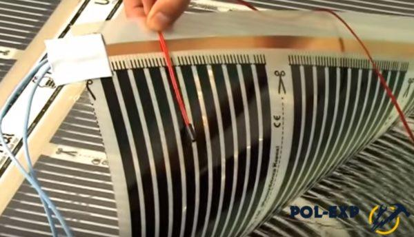 Далее устанавливается термодатчик