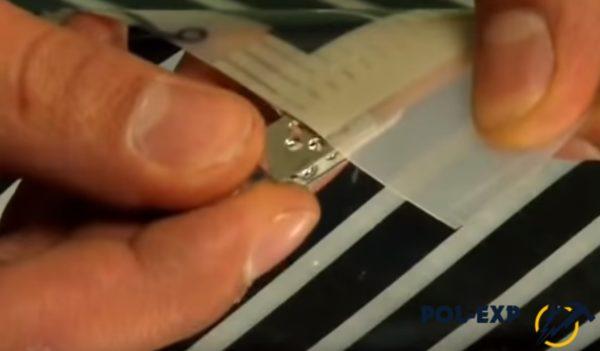Использование контактных зажимов