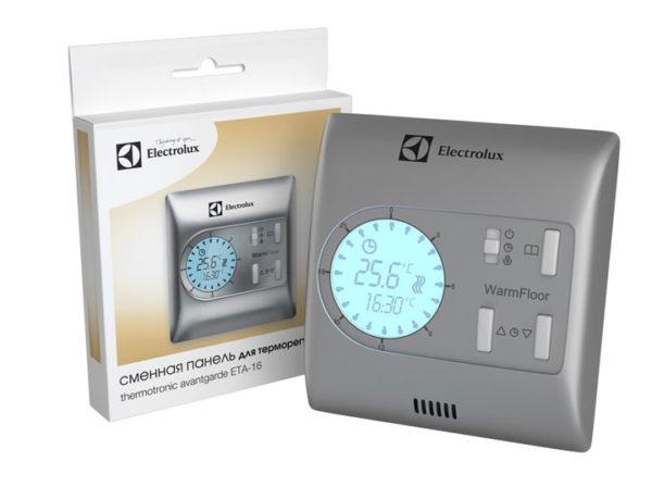 Лучше всего использовать программируемые терморегуляторы, с выставлением не только нужной температуры, но и времени отключения-включения теплого пола