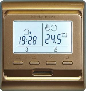 Терморегулятор придется приобретать отдельно