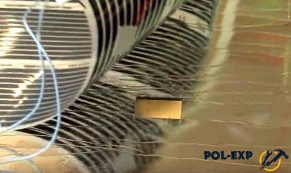Вырезано отверстие под термодатчик