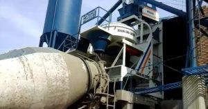 На производстве бетон изготавливают с точным соблюдением пропорций