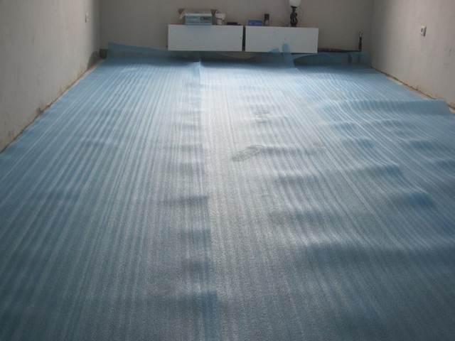 подстилка под линолеум на бетонный пол