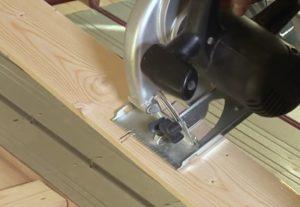 Шаг 3. Раскрой деревянных пластин