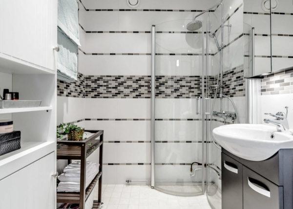 Контрастное решение для ванной