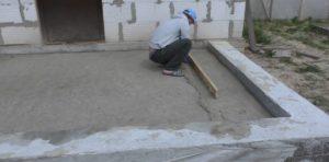 Шаг 4. Подрезка песка