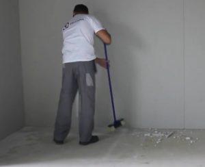 Шаг 5. Уборка в помещении