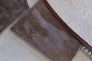 Шаг 7 – монтаж подрезанной плитки