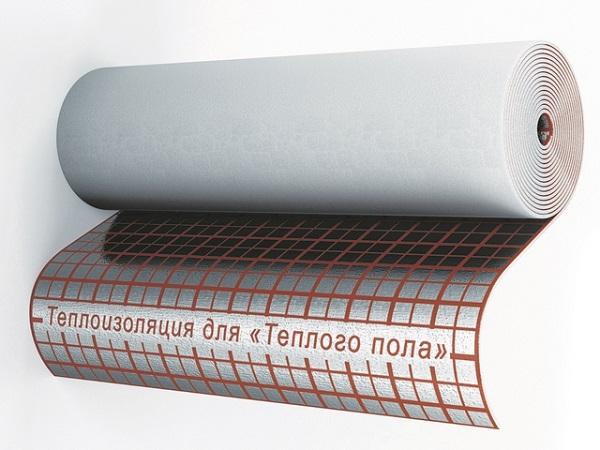 Фольгированная подложка из вспененного полиэтилена