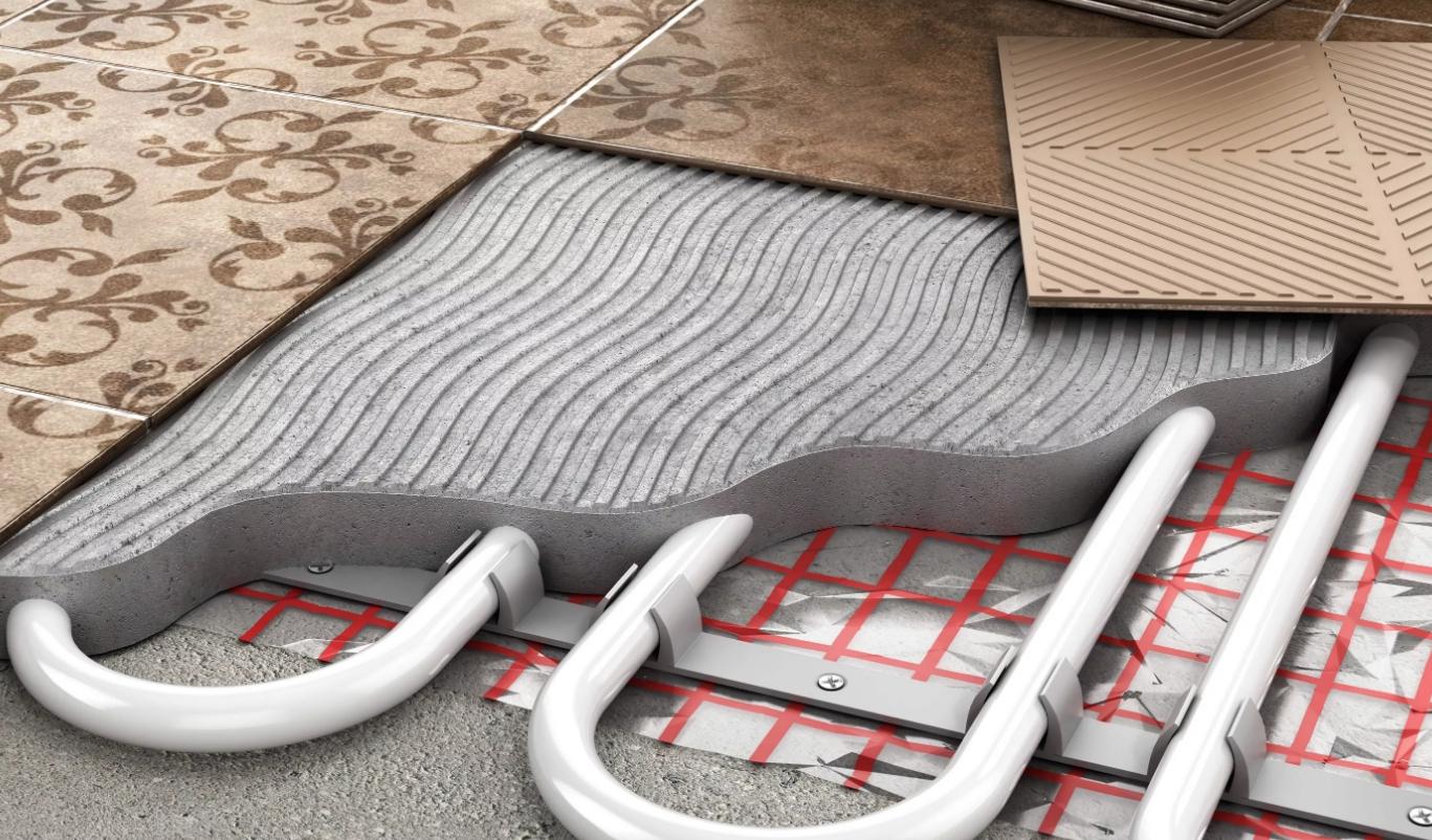 Теплый пол водяной от газового котла схемы подключения