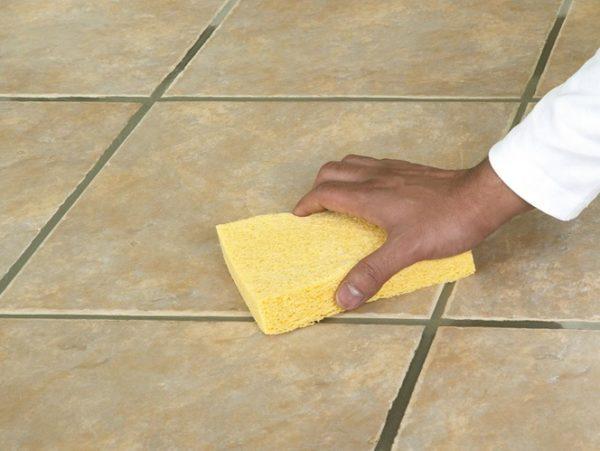 Шаг 8 – Очистка поверхности пола