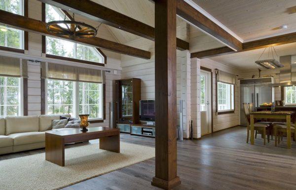 Тёплый пол в деревянном доме водяной, по деревянным полам