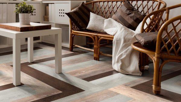 Кварцвиниловая плитка – функциональный напольный материал нового поколения