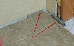 Шаг 12 – фиксация покрытия от сдвига