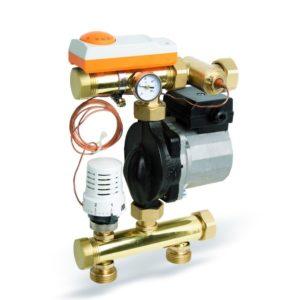 Модуль регулирования водяных напольных систем заводской сборки