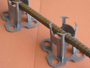 Шаг 7 - обеспечение арматуре защитного слоя