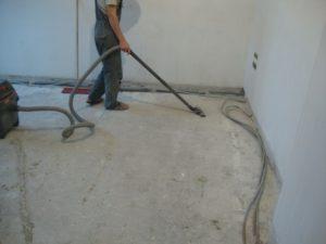 Подготовка поверхности для стяжки
