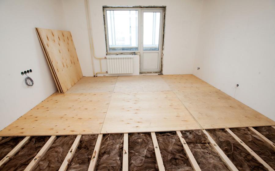 Замена полов в квартире - последовательность работ