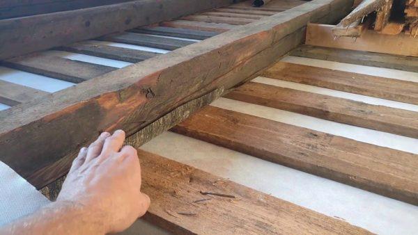 Теплоизоляция пола в деревянном доме