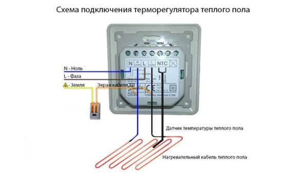 Терморегулятор тпелого пола