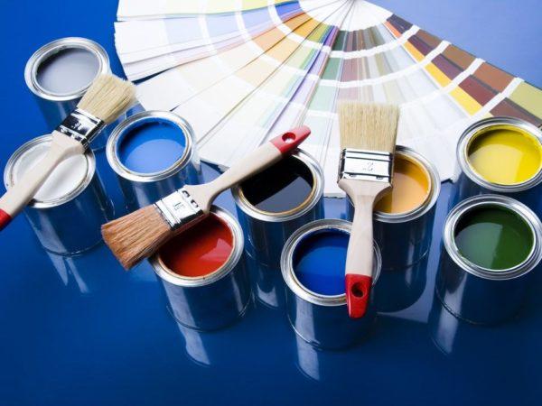 Виды красок для деревянных покрытий