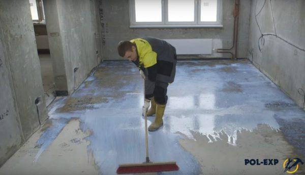 Грунтование поверхности