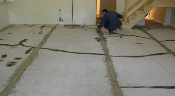 Подготовка разных поверхностей под линолеум