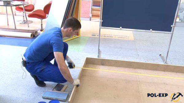 Измерьте длину и ширину помещения