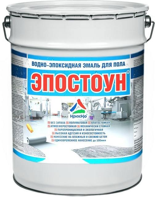 Краска «Эпостоун» - высокопрочное покрытие бетонных полов