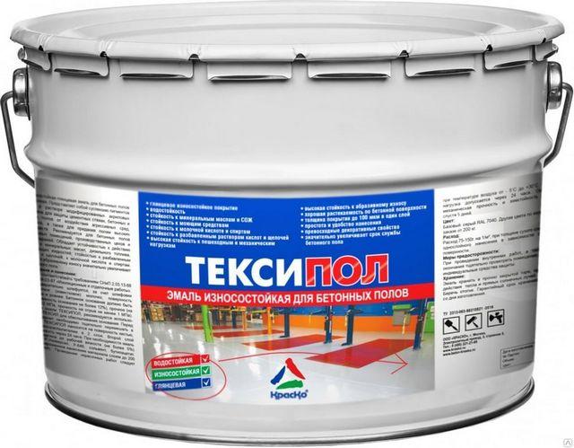 «Тексипол» — акриловая краска для бетона на органическом растворителе