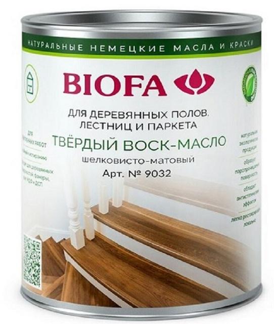 Воск-масло для покрытия деревянных полов