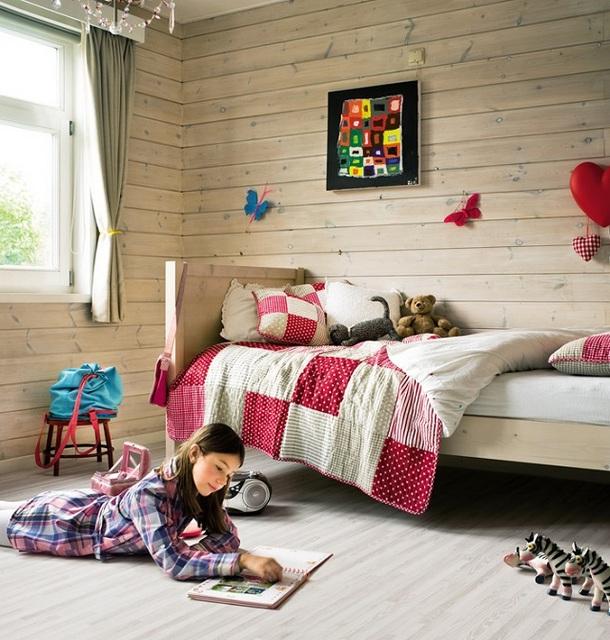 Оформление детской комнаты в светлых тонах