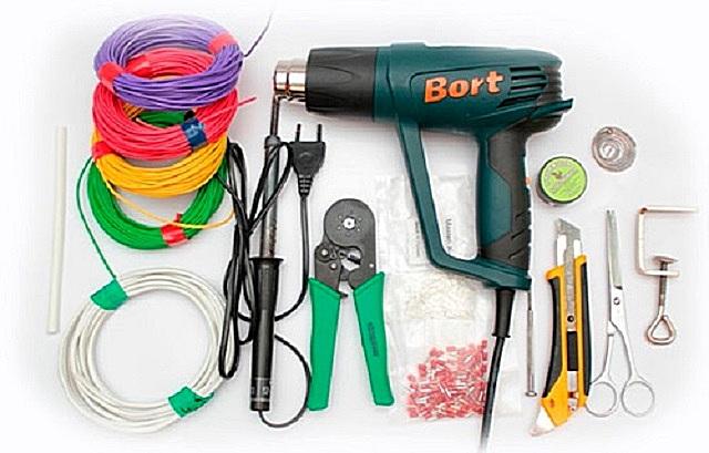 Инструменты и материалы для проведения электромонтажных работ