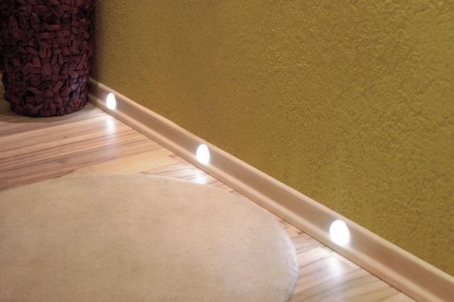 Если выбираются точечные светильники, то они должны соответствовать определённой степени защиты.