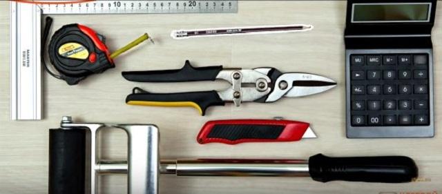 Инструменты для монтажа виниловой плитки
