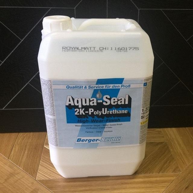 Двухкомпонентный лак-герметик «Aqua Seal 2KPUЦ»