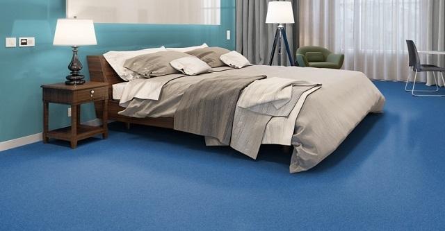 Материал не содержит токсичных веществ, поэтому может быть использован для спальни