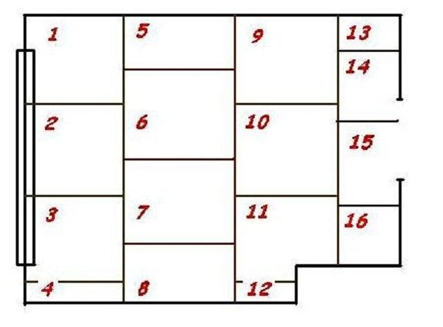 Подгонка фанерных листов с последующей ин нумерацией (пример)