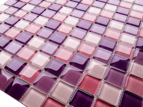 Гибкая мозаичная плитка из смальты на сетчатой основе