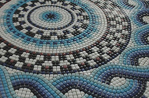 Мозаика, сделанная из смальты
