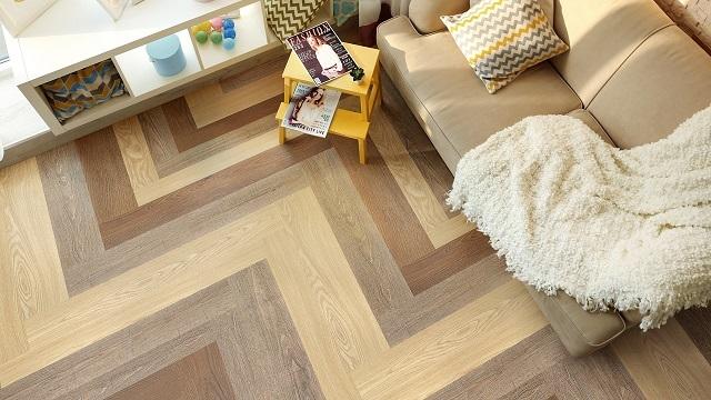 Бытовой вариант плитки может применяться в любой из комнат с небольшой интенсивностью перемещения людей