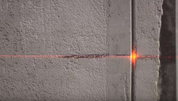 Лазерный нивелир позволяет выполнять работу быстрее и аккуратней