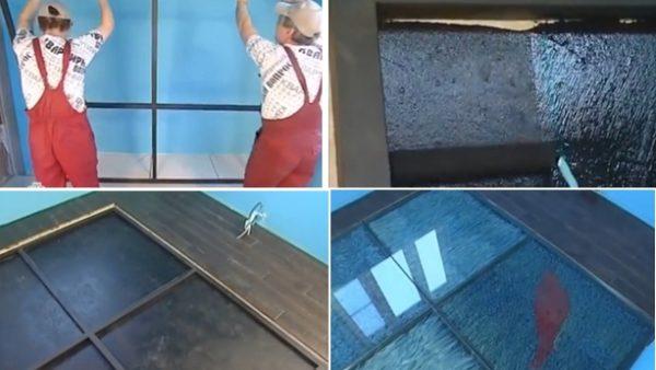 Монтаж напольного покрытия, установка триплекса