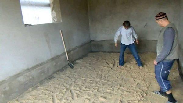 Песчаная подушка