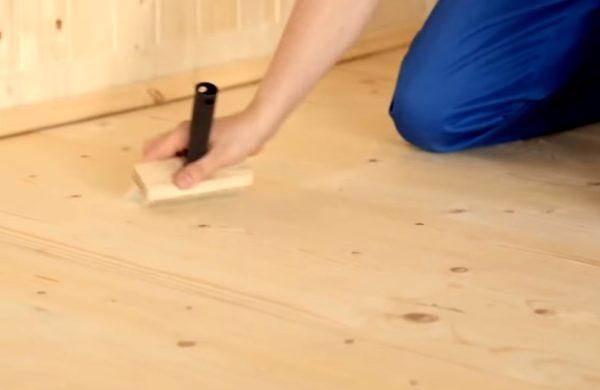 Подготовка поверхности пола
