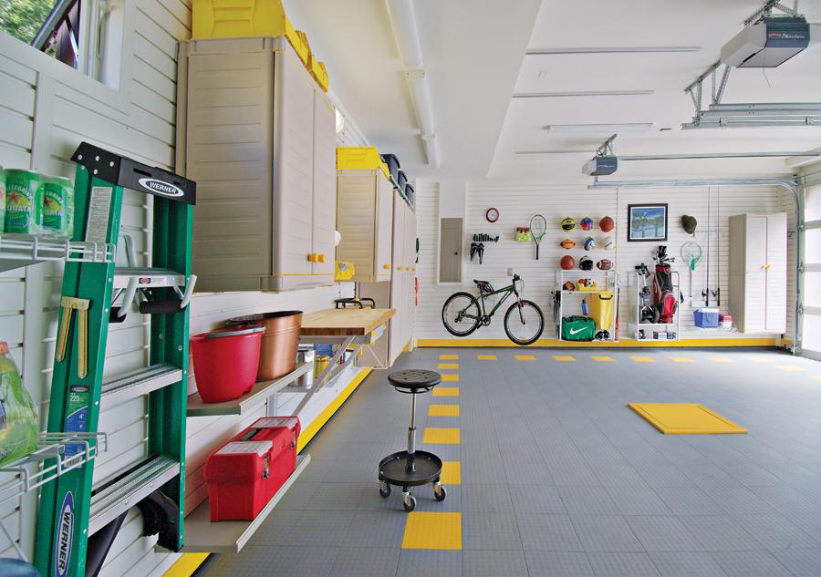 Покрытие пола в гараже виды характеристики способы укладки