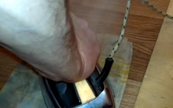 Повторение процедуры с утюгом